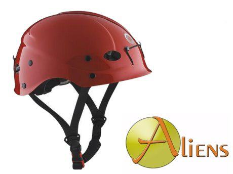 Kletterhelm Rock Climbing Eco Red